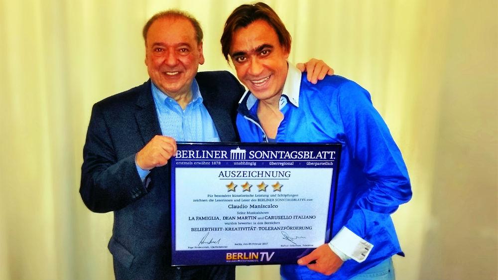 Auszeichnung vom Berliner Sonntagsblatt