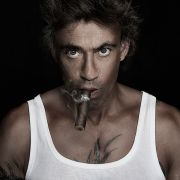 Claudio Maniscalco beim Fotoshooting Smoking Devil
