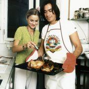 Claudio Maniscalco mit Reha Harder beim Kochen