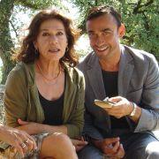 Claudio Maniscalco mit Hannelore Elsner in dem Film Rauchzeichen